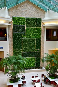 Green Wall, Minto Place Ottawa, Ontario.
