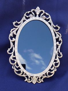 Ornate Vintage Scrying Mirror Divination by WayOfTheCauldron, $12.99