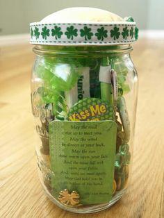 Jar full of Irish luck