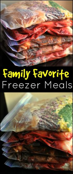 These freezer meals are a LIFESAVER during the busy school year, sports seasons and after school activities!