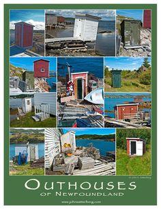 Outhouses of Newfoundland