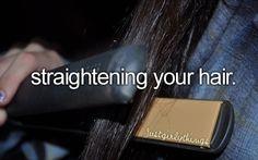 Like straight hair