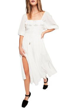 Endless Summer by Free People Ruffle Maxi Dress | Nordstrom
