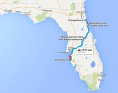Chase The Sun On This Epic Coast to Coast Road Trip In Florida