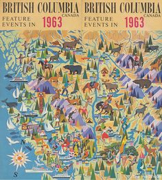 British Columbia Feature Events in 1963 by The Pie Shops, via Flickr