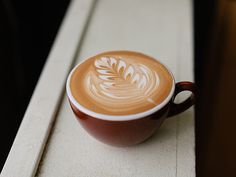 Slide Show   Latte Art: How to Draw a Rosetta on Your Coffee   Serious Eats