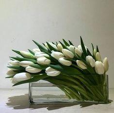 Sugestão para arranjos de flores modernos.