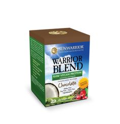 Warrior Blend Protein | Plant-Based Protein | Sweetened with Stevia, No Artificial Ingredients | Great Amino Acid Profile