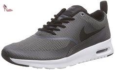 Nike Air Max Thea Textile Women, Sneakers basses femme, Gris (DARK GREY/BLACK-WHITE), 38 - Chaussures nike (*Partner-Link)