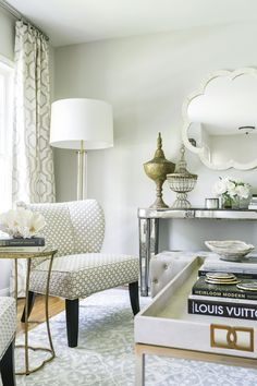 living room by Kimberly Harrington of the Recoverie and Dolley Levan