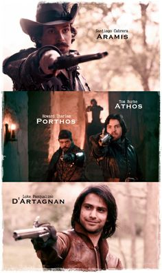 The Musketeers. The amount of times they pull out these gorgeously antique pistols is absurd, especially for the time period. *laugh*