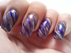 Glittery Fingers & Sparkling Toes Nail Tutorials & Designs for Natural & Acrylic Nails