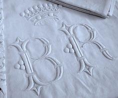 Linens-Monogrammed