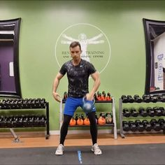 Kettlebell clean and press is a n excllent total body exercise that will help you build functional strength. For a tutorial on this and other exercises checkout nodaysoff.xyz #kettlebell #workout