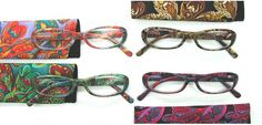 Paisley Fashion Reading Glasses@Reading Glasses Galore    Ladies...your hubby will not steal your girly reading glasses! Life is short make wearing glasses fun!