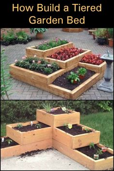 This tiered garden bed is a great solution for you!