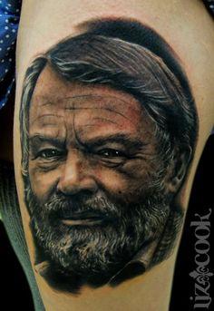 #portrait #tattoo