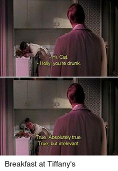 ideas breakfast at tiffanys quotes funny audrey hepburn for 2019 Film Quotes, Funny Quotes, Old Movie Quotes, Depressing Quotes, Famous Movie Quotes, Quotes Quotes, Movie Lines, Life Humor, Old Movies