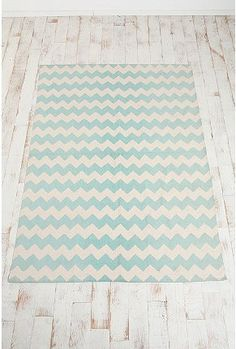 chevron rug from UO