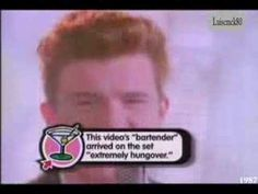 Never Gonna Give You Up  -  Rick Astley  I remember thinking the guy flipping off the wall was so cool.