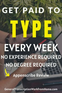 Remote transcription jobs for beginners. No Experience Required. Appenscribe is one of the best places to get started in transcription if you're new. They hire beginning transcribers worldwide and have transcription work from home in many languages. Get remote transcription jobs anywhere.