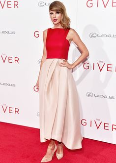 Taylor Swift at The Giver premiere in NYC