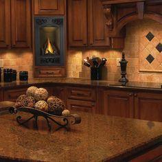 Napoleon Gas Fireplace GD19 Vittoria Direct Vent Slim Small Efficient Kitchen in Home & Garden   eBay