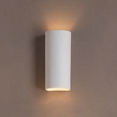 """5"""" Classic Cylinder Ceramic Sconce $119.00"""