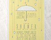 Banner baby shower invitations bunting flags yellow pink blue. $32.00, via Etsy.    http://www.etsy.com/listing/89576978/banner-baby-shower-invitations-bunting#