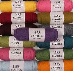 LANG YARNS JAWOLL SUPERWASH SOCK YARN - VARIOUS SHADES - 50g BALLS