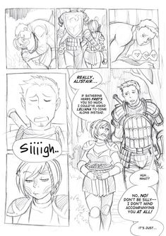 DA - Height Differences, Pg 1 by aimo on deviantART