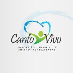Criação de Logotipo Escola Canto Vivo Ensino Fundamental na Praia Grande - FIRE MÍDIA  http://firemidia.com.br/categoria-portfolio/criacao-de-logotipo-em-santos/
