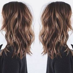 Winter Balayage Hair Colour. For more ideas, click the picture or visit…