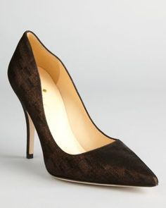 kate spade new york Pumps - Licorice High Heel