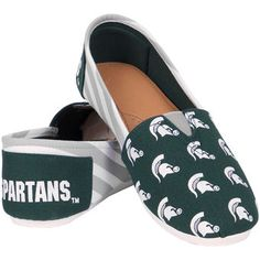 Compare prices on Michigan State Spartans Footwear and other Michigan State Spartans Apparel. Save money on Spartans Footwear by viewing results from top retailers. Michigan Spartans, Striped Shoes, Fan Gear, Sock Shoes, Bridal Accessories, Casual Shoes, Toms, Footwear, Sneakers
