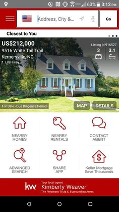 Mortgage Calculator Homes For Sale Free Search App - Calculate your monthly mortgage payment. Online Mortgage, Mortgage Tips, Mortgage Payment, Flood Insurance, Home Insurance, App Share, Mortgage Calculator, Real Estate Search
