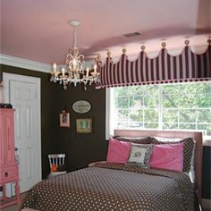 Found This Online When Looking At Houses Gorgeous Pink And Brown S Room Boy