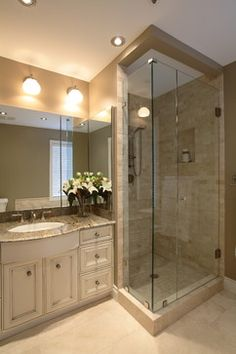 Photo On Hotelier at Home Ensuite traditional Bathroom Vancouver H Design Studio