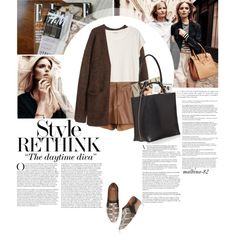 The Daytime Diva! by malbina-82 on Polyvore featuring Acne Studios, H&M, Raoul, Givenchy, Marni, Anja, Marc O'Polo and Bela