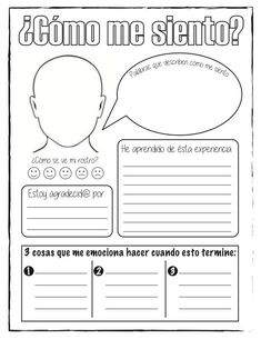 CUADERNO MI CAPSULA DEL TIEMPO 2020 - COVID 19 Spanish Language Learning, Teaching Spanish, Teaching Resources, Spanish Classroom Activities, English Activities, 5th Grade Teachers, Coaching, Mindfulness For Kids, Positive Phrases