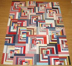 Happy Quilting: Log Cabin Layout