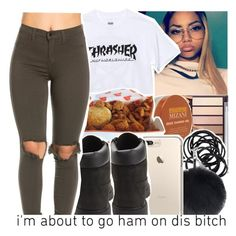 """""""❤I found me someone special❤"""" by babygirl-10 ❤ liked on Polyvore featuring HUF, Mizani, H&M and Timberland"""