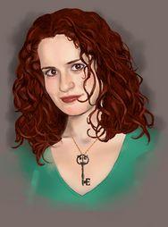 Autorretrato de Esperanza, de Bajo Llave-Ilustraciones de Esperanza Peinado.