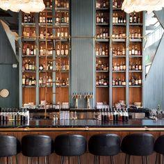 Kelly Wearstler: Villon restaurant at the Proper Hotel, San Francisco Design Bar Restaurant, Café Restaurant, Architecture Restaurant, Forest Restaurant, Kelly Wearstler, Bar Interior Design, Bar Design, Commercial Design, Commercial Interiors