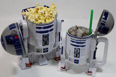 The only way to watch a Star Wars marathon!!