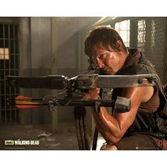(16x20) The Walking Dead Daryl Television Poster @ niftywarehouse.com #NiftyWarehouse #WalkingDead #Zombie #Zombies #TV