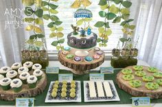 "Photo 3 of 38: Skylanders / Birthday ""Skylanders Birthday Party Adventure"" | Catch My Party"