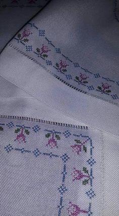 Cross Stitch Borders, Modern Cross Stitch, Cross Stitch Flowers, Cross Stitch Charts, Cross Stitch Designs, Cross Stitching, Cross Stitch Embroidery, Embroidery Patterns, Hand Embroidery