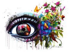 Зеркала души. Глаза и лица в удивительных акварелях от Svenja Jodicke - Ярмарка Мастеров - ручная работа, handmade