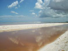 Las salinas de Río Lagartos, Yucatán son consideradas todo un spa natural. También de aquí son extraídas grandes cantidades de sal para consumo humano.
